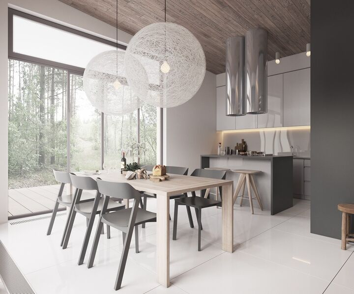 Minimalist Muted Colour Home With Scandinavian Influences