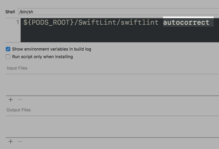 iOS ) 내 프로젝트에 SwiftLint를 적용해보자