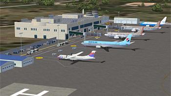 Korea Airport Sceneries for Flight Simulator