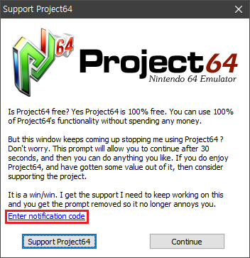 Project64 v2 3