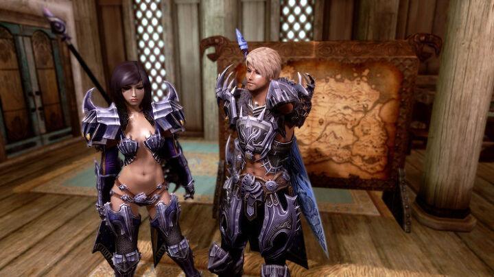 스카이림 모드]TERA Armors Collection for Skyrim - Male and UNP