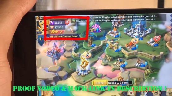 Download Lords Mobile Free Gems Hack PNG