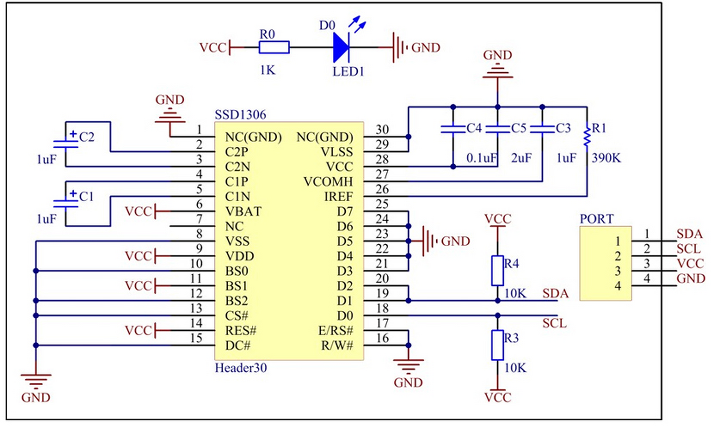 31 [stm32f103][hal] OLED SSD1306