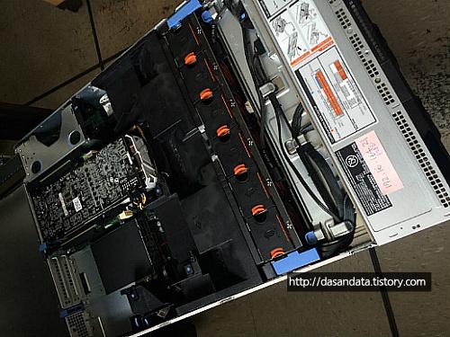 Dell PowerEdge R730 GTX 1080 Ti 추가 장착