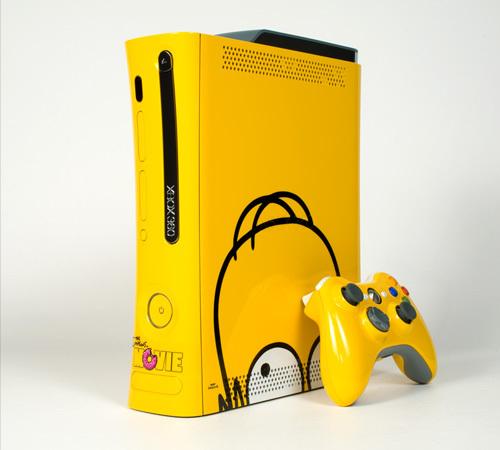 Simpsons X Color Ware Xbox 360 Custom