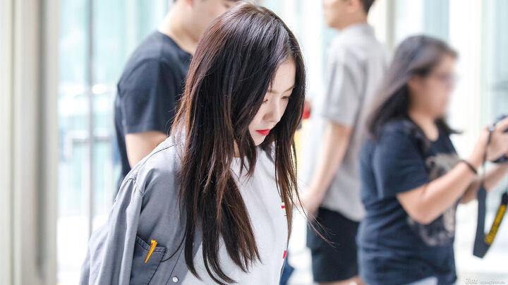 170825 레드벨벳 아이린 김포공항 출국 직찍