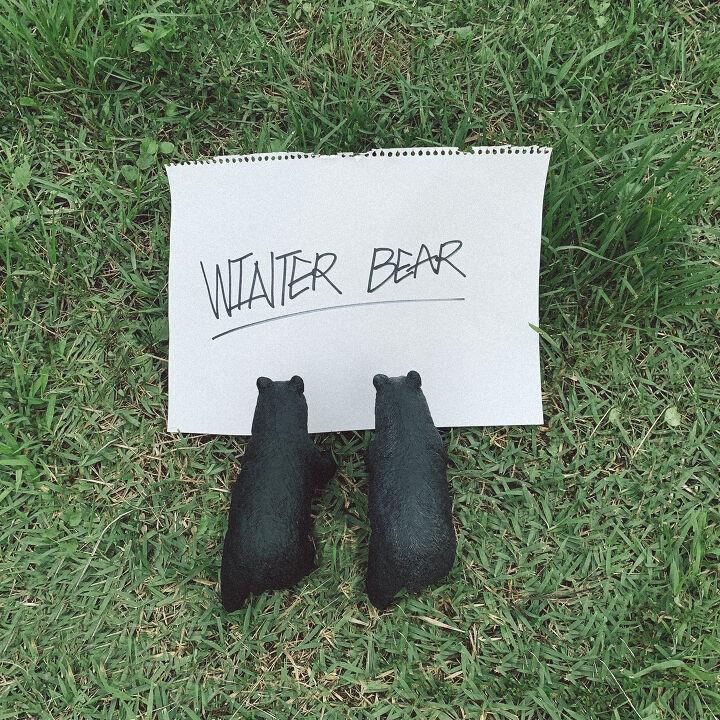 winter bear by v. Black Bedroom Furniture Sets. Home Design Ideas