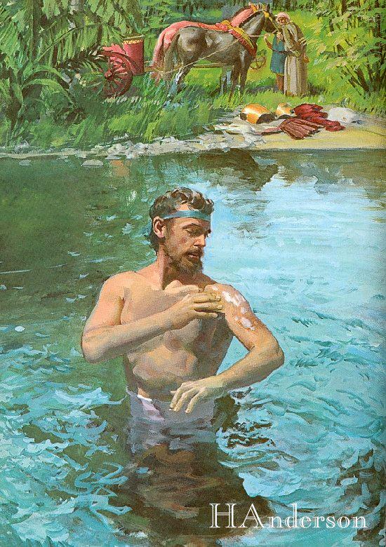 2Ki 5:8-14] Go, Wash Yourself Seven Times In The Jordan