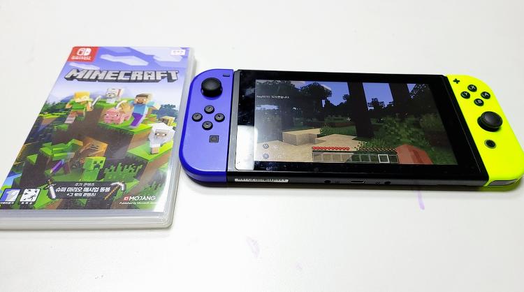 닌텐도스위치 마인크래프트 2인용 플레이 하는 방법
