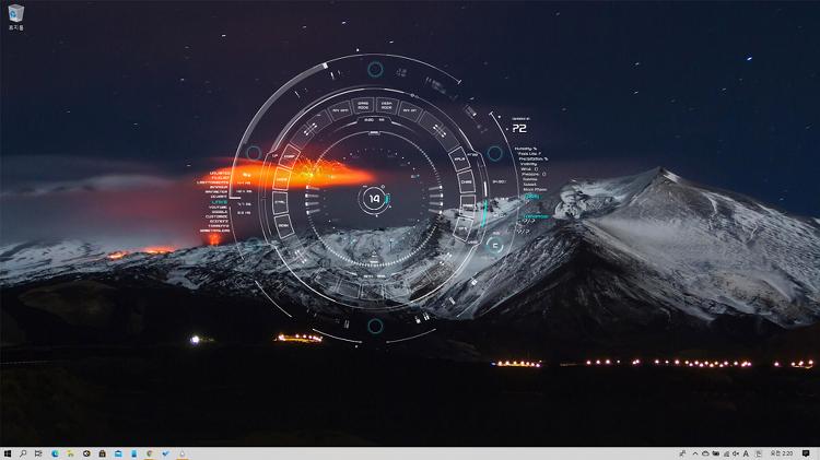 윈도우10 배경화면을 멋있는 커스텀 테마 적용해보자