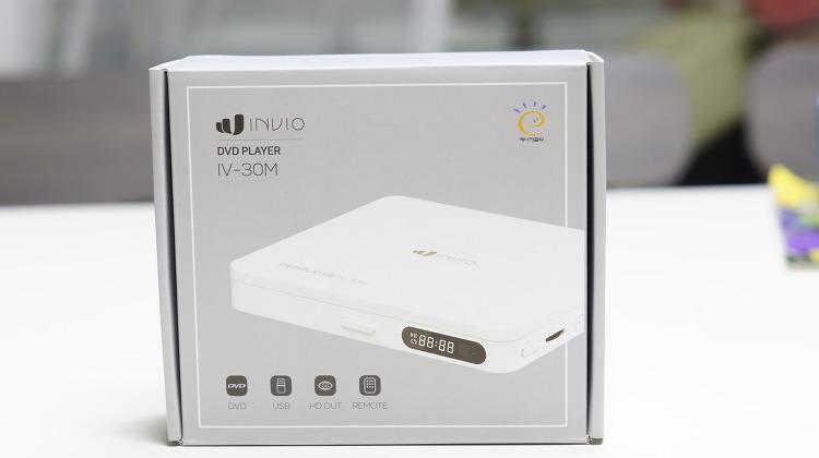 심플한 DVD 플레이어 인비오 IV-30M 사용기