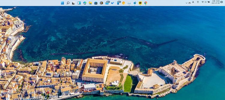 윈도우11 작업표시줄 상단으로 설정 하는 방법