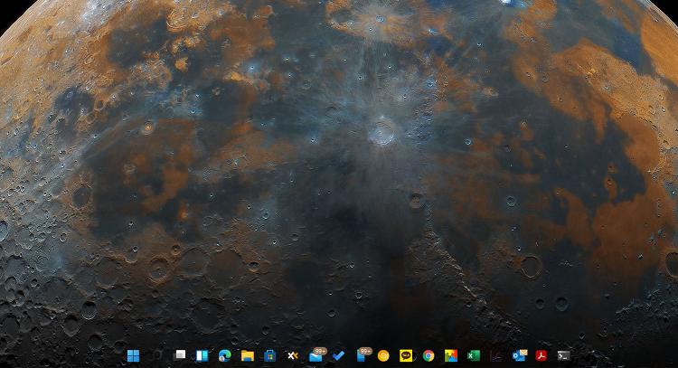 윈도우11 작업표시줄 투명하게 만들자