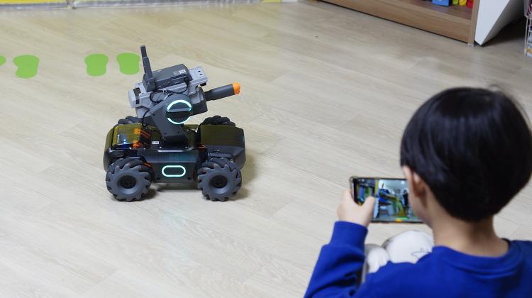 코딩로봇 DJI 로보마스터 S1 으로 코딩 놀이와 인공지능로봇을 배워요