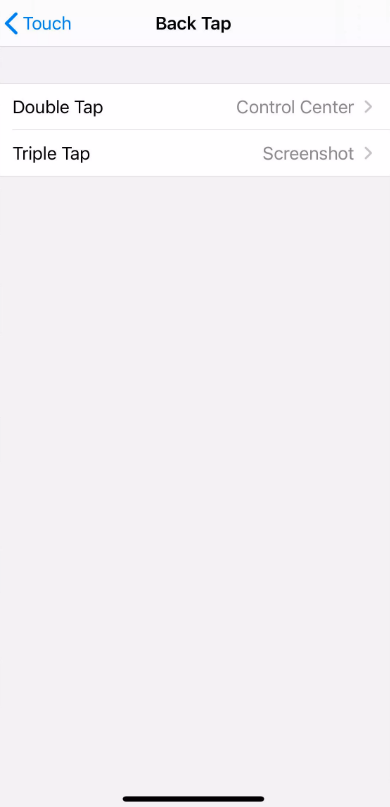 아이폰 iOS14 의 새로운 기능 백탭 사용하기