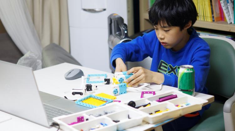 레고에듀케이션 스파이크로 진행한 퓨너스 온라인 교육