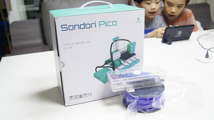 초등학생 교육용 저렴한 3D 프린터 손도리닷컴 피코 리뷰