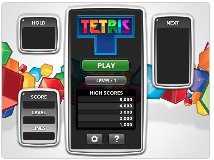 웹브라우저에서 즐기는 테트리스 온라인 게임 사이트