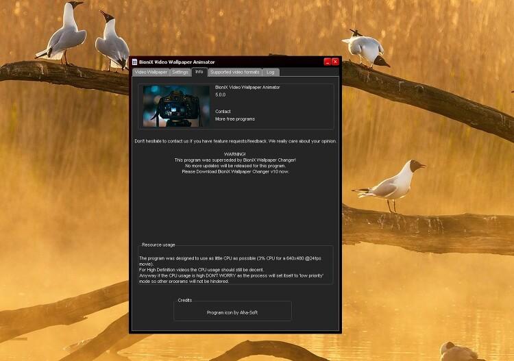 윈도우10 움직이는 GIF 를 배경화면으로 사용하기