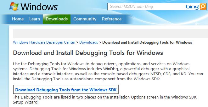 Windows Mini Dump 분석하기