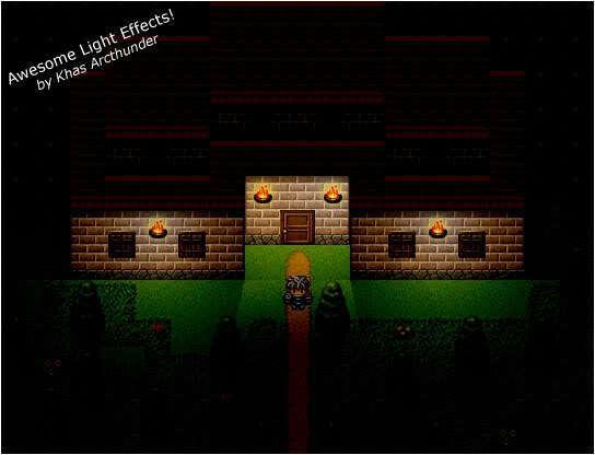 실감나는 광원 묘사 - Khas Awesome Light Effects (RPG VX Ace용)