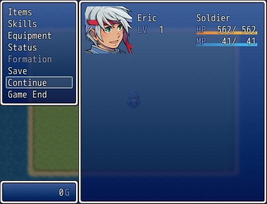 게임 도중 메뉴에서 불러오기 추가 (변, RPG VX Ace용)