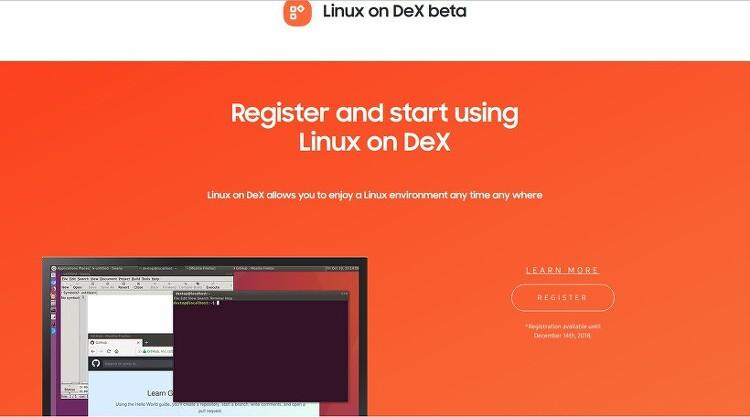 노트9 Linux on DeX 로 PC 만드는 방법