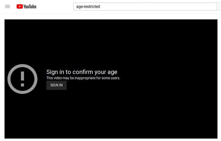 유튜브 연령제한 영상 로그인 않하고 보는방법