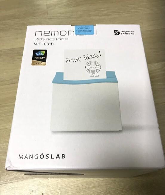 네모닉 프린터 포스트잇을 내마음대로 뽑을수 있다.