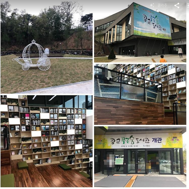 광교푸른숲도서관 방문후기