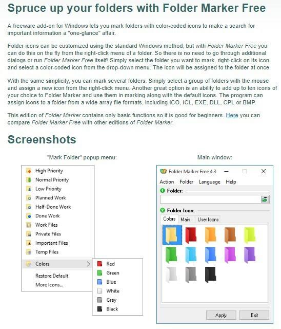 윈도우10 폴더를 색과 중요도로 구분해서 관리하기