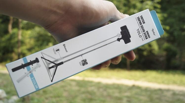 삼각대 활용이 가능한 요이치 욜로 3세대 삼각대 블루투스셀카봉