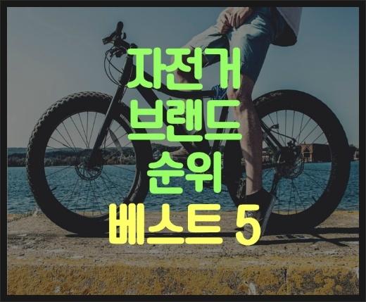 자전거 브랜드 순위 베스트 알아보기! :: 여윈야생사슴의 파리살이