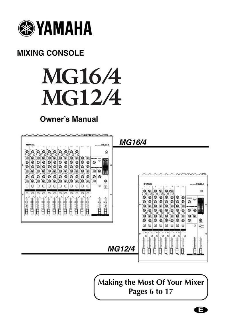 Yamaha MG16/4 Manual :: sori's