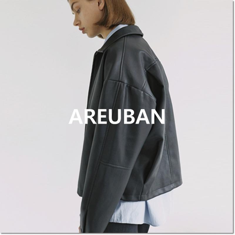 아르반 비건 레더 자켓 전제품 30% 할인 , 오버핏 블루종 자켓 #비건레더자켓