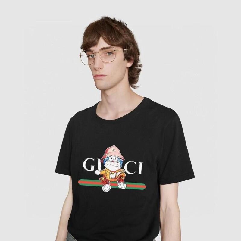 구찌 X 도라에몽 티셔츠