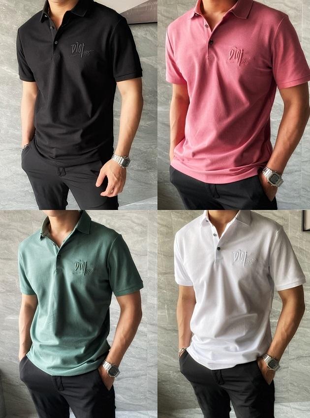 디올 로고 자수 PK 셔츠 / 4컬러