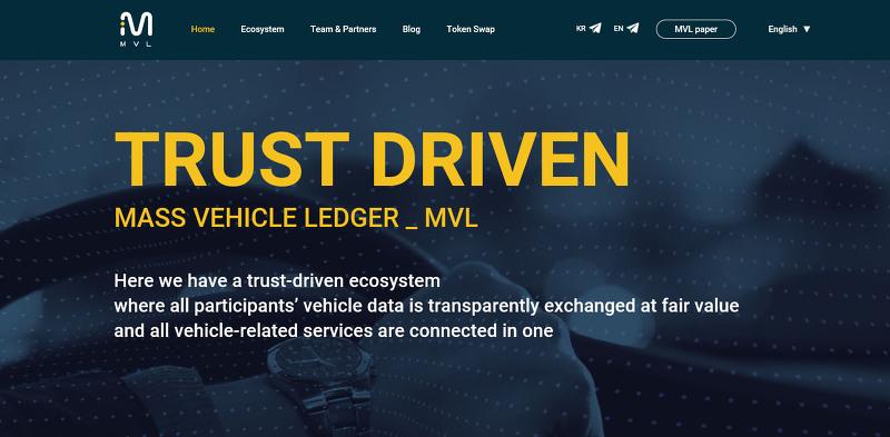 모빌리티 블록체인 플랫폼인 엠블을 개발하는 엠블 랩스, 180억원 규모 시리즈B 투자 유치..블록체인 기반의 승차 호출 서비스(Ride-hailing Service) 타다(TADA)..MVL 포인트를 인센티브
