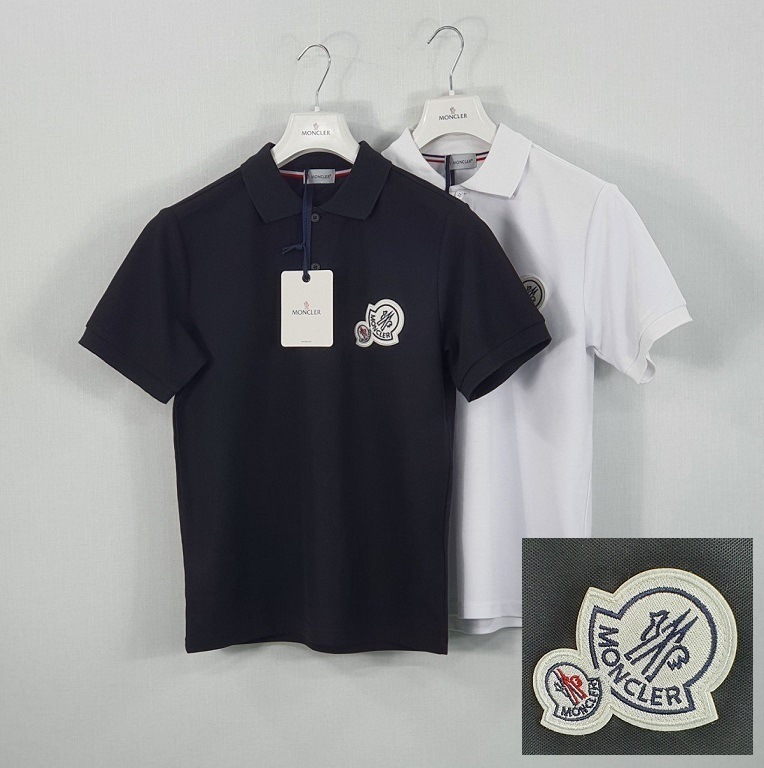 몽클레어 더블 패치 PK 티셔츠 / 2컬러