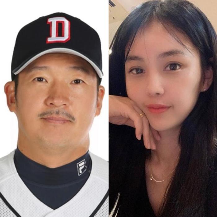최경환 코치 아내 박여원 미모 및 아들 화제