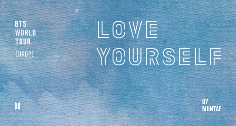 BTS WORLD TOUR 'LOVE YOURSELF' EUROPE DVD