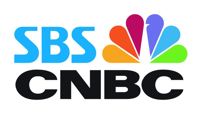 SBS CNBC 로고