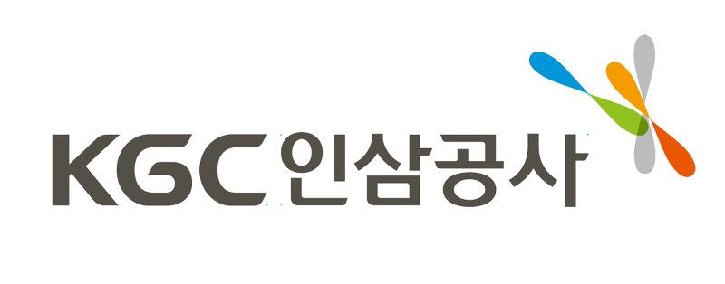 한국인삼공사 로고
