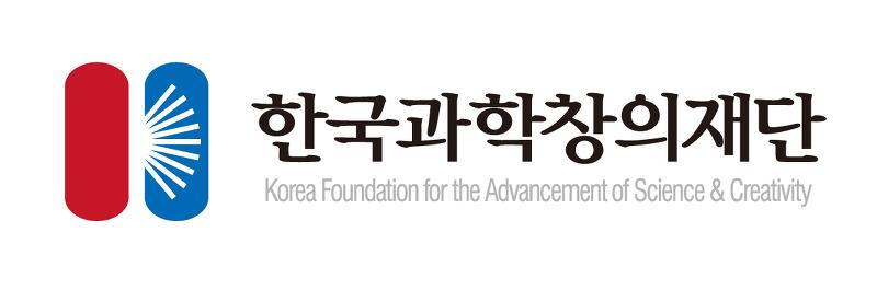 한국과학창의재단 로고