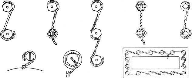 Safety Wiring 방법