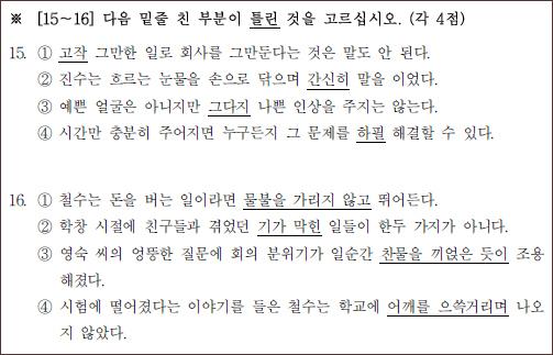 한국인도 어려워하는 '한국어능력시험' 도전기!