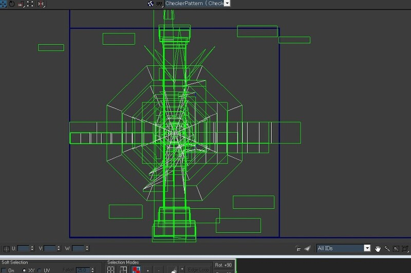3ds Max 등대 포토샵으로 맵핑하는 방법 알파채널 사용법