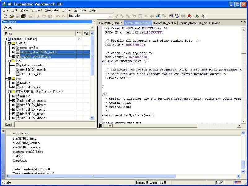 Dream never gets old  :: STM32F103RB 72MHz 시스템 클럭 설정하는 방법
