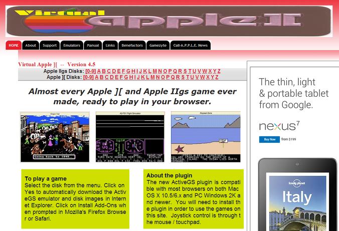 LINK] Apple II