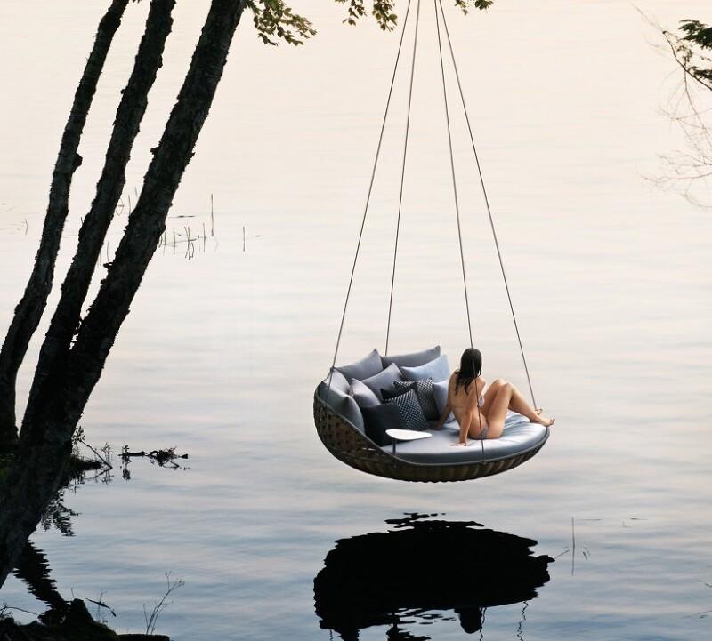 *행거 체어 [ daniel pouzet ] swingrest hanging outdoor lounge for dedon